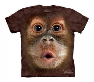 Big Face Baby Orangutan - The Mountain - Koszulka Dziecięca - 2833178243