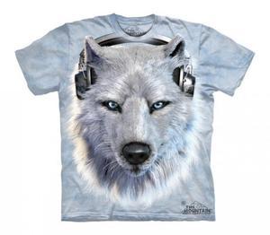 White Wolf DJ - The Mountain - Koszulka Dziecięca - 2833178277