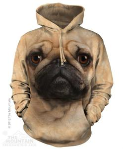 Pug Face - Mops - Bluza The Mountain - 2833178617