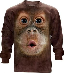 Big Face Baby Orangutan Long Sleeve The Mountain