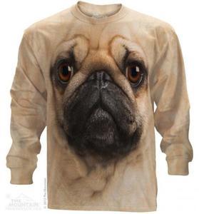 Pug Face - Long Sleeve The Mountain