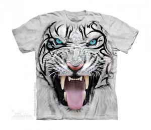 Big Face Tribal White Tiger - The Mountain Junior