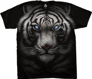 Majestic White Tiger - Liquid Blue - 2847876531