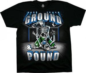 Ground and Pound - Liquid Blue - 2842412678
