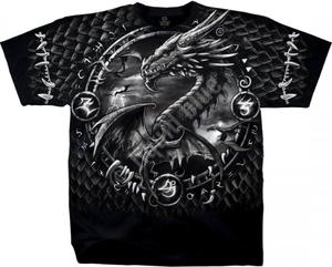 Dragon Dreamcatcher - Liquid Blue - 2855528614