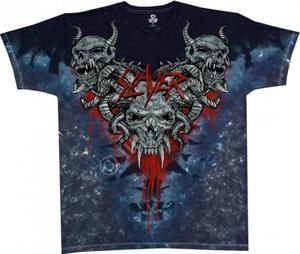 Slayer Hell Awaits - Liquid Blue - 2850779743