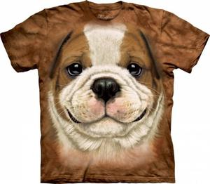 Big Face Bulldog Puppy - The Mountain - 2877830131
