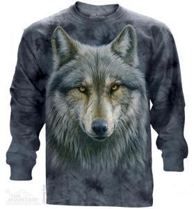 Warrior Wolf - Long Sleeve The Mountain - 2857394774