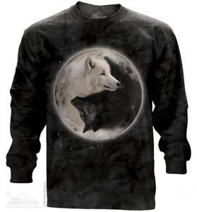 Yin Yang Wolves - Long Sleeve The Mountain - 2857394775