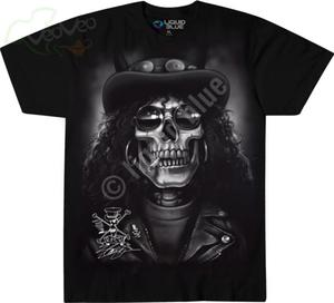 Slash Skull - Liquid Blue - 2861363099