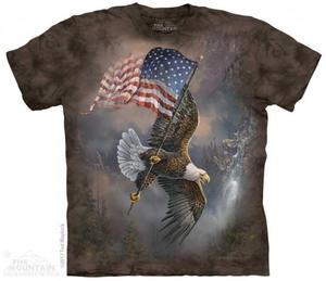 Flag-Bearing Eagle - The Mountain - 2863733787