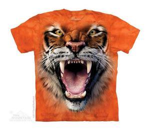 Roaring Tiger Face - The Mountain - Junior - 2861363285