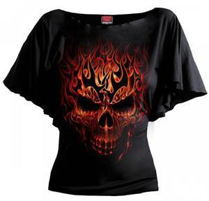 Skull Blast Bat - Spiral - Damska - 2861363344