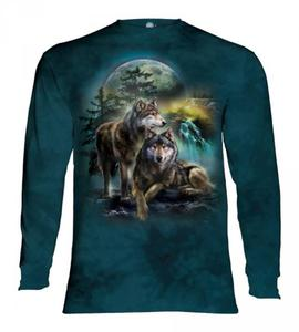 Wolf Lookout - Long Sleeve The Mountain - 2877287035