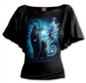 Cat And Fairy - Bat Spiral Damska - 2861363892