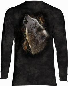 Song of Autumn Wolf - Long Sleeve The Mountain - 2888078234