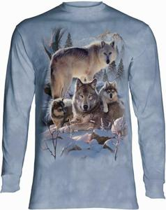 Wolf Family - Long Sleeve The Mountain - 2888078235