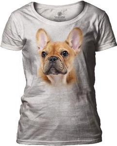 French Bulldog Face - The Mountain Damska - 2863274696