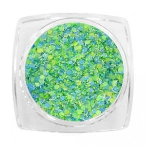 Opalizujące perły szklane 3mm op05 ciemny fiolet (20szt.wor.str.)