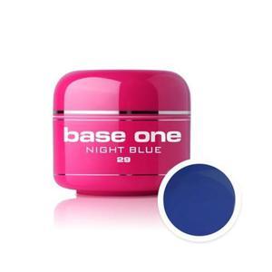 29 Silcare Base One COLOR Żel UV kolor 5g - Night Blue - 2882065730