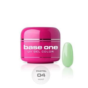 04 Silcare Base One PASTEL Żel UV kolor 5g - Mint - 2882067158