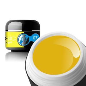 07 Sillcare BASIC COLOR Żel UV kolor 5g - Yellow - 2882067167