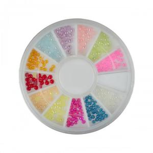 98 Karuzelka Ozdoby 3D Półperełki 12 kolorów 2 rozmiary - 2882068421