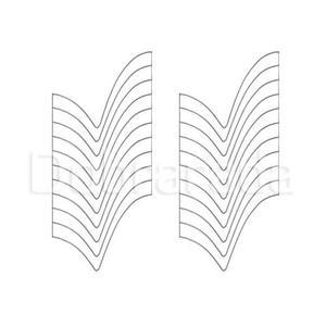 Bordowa organza z brokatowymi gwiazdami mat43