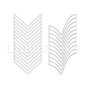 Brokat 44 perła - przezroczysty biały opalizujący