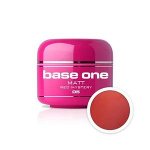 05 Silcare Base One MATT Żel UV kolor 5g - Red Mystery - 2882069339