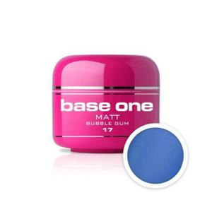 16 Silcare Base One MATT Żel UV kolor 5g - Blue Cocktail - 2882069345