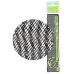 Kostka pełna 2mm kos01 słoiczek biała aqua opalizująca