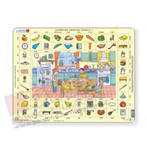 Puzzle do nauki angielskiego - kuchnia - 2826506062