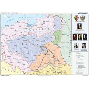 Księstwo Warszawskie w latach 1807-1815 - tablica ścienna - 2826503915