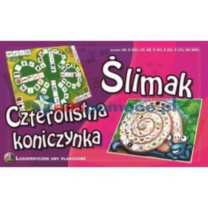 Ślimak - czterolistna koniczynka - 2826506458