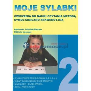 Moje sylabki 2. Ćwiczenia do nauki czytania - 2826504812
