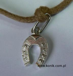 Bransoletka - podkowa - srebrna - 2847720860