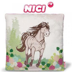ddd94c77ca00b Pluszowa poduszka koń szaro-beżowy - NICI - 2847723030