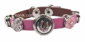 Różowa bransoletka HKM - 2847723332