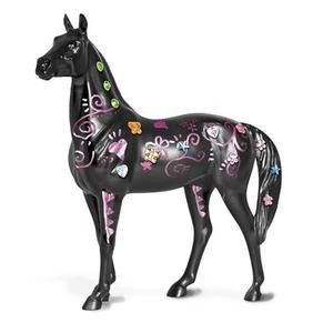 Koń do malowania + metaliczny marker - BREYER - 2847725873