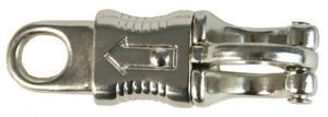 Karabińczyk bezpieczny K7 niklowany - API - 2847727060