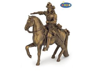 Figurka Ludwik XIV na swoim koniu - PAPO - 2847727135