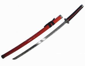 Profesjonalny (dekoracyjny) Miecz Samurajski/Katana Sword RED + Pochwa. - 2837616362