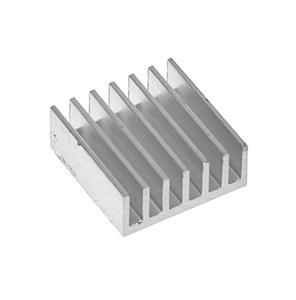 Radiator aluminiowy 14,5x14,5x6mm samoprzylepny Raspberry Pi, FPGA, MCU - 2873115199