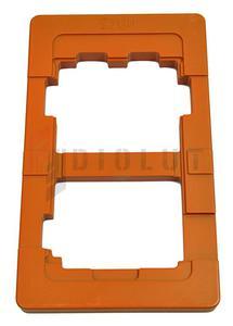 Forma matryca ramka do pozycjonowania LCD SAMSUNG GALAXY S2 i9100 UV LOCA - 2861191586