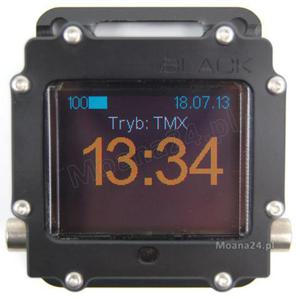 xDeep Black Upgrade Bottom Timer BT - Trimix TMX - 2827941391