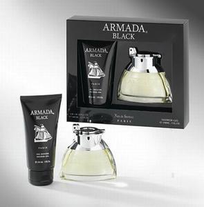 Paris Bleu Armada Black - zestaw, woda toaletowa,  - 2860884813