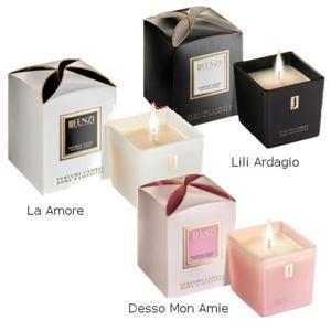 Świece sojowe o zapachu perfum - zestaw 3 świec Fenzi - 2827793004