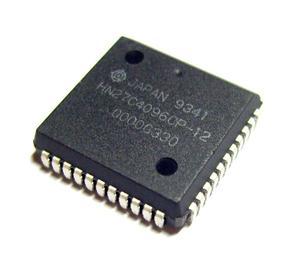 Pamięć EPROM 27C4096 PLCC44 (OTP) Hitachi (zam. 27C240/4002) 120ns - 2828172739