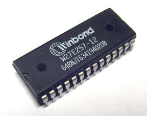 Pamięć EPROM kasowalna elektrycznie W27E257 DIL28 120ns (zam. 27C256)  - 2828172874